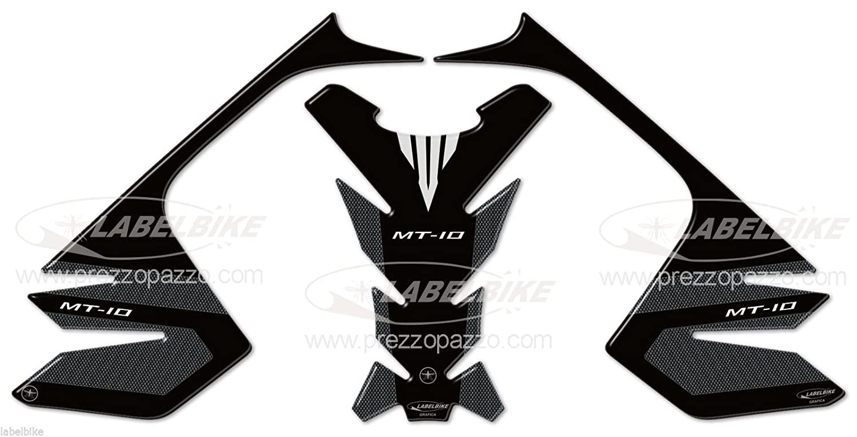 Kit de Pegatinas Resina Gel 3D Protecciones Compatible X Dep/ósitos Moto Yamaha MT-10