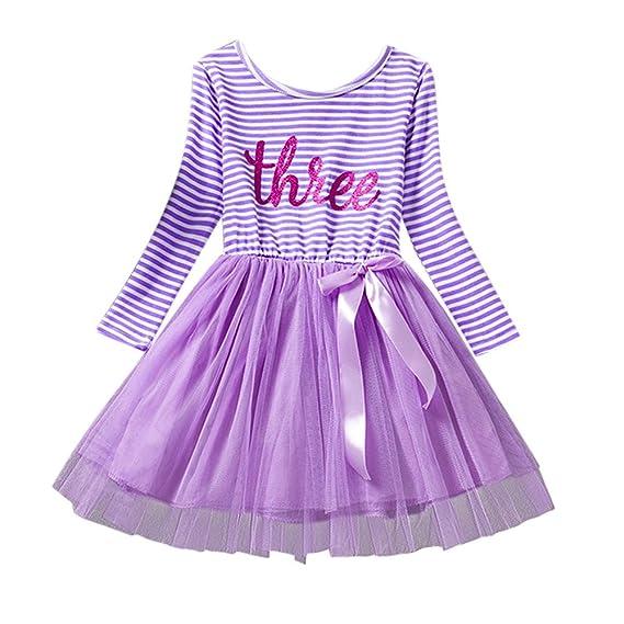 K-youth Vestido Bebe Niña, Tutú Vestido Niña Ropa Bebés Recien ...