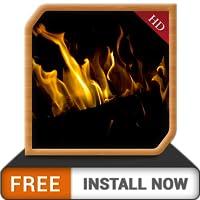 Dark Fireplace HD FREE - Profitez de l'hiver avec une cheminée romantique sur votre écran de télévision