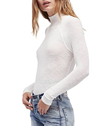 6eb36ee4e3e0 Free People Women s Weekends Snuggle Layering Top