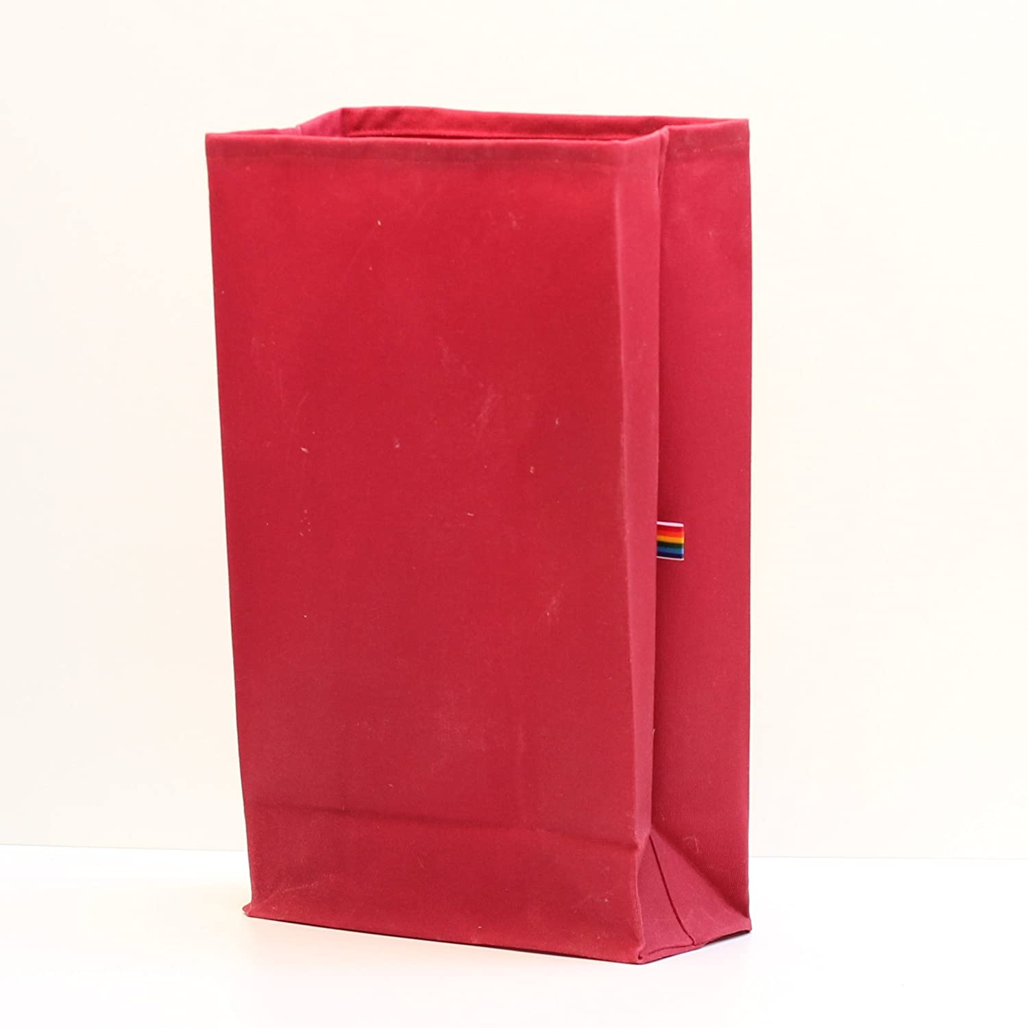 Lunch Bag - Red Waxed Canvas
