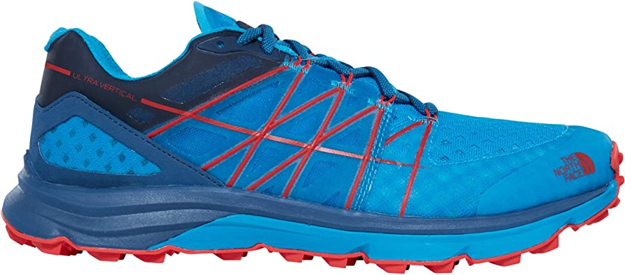 The North Face - Ultra Vertical - Zapatillas Trail - Shady Blue ...