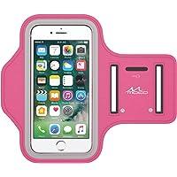 美国MoKo iPhone 7 / 7 Plus 运动臂带 苹果iPhone 7 / 7 Plus防汗透气轻便臂袋 内置钥匙口/耳机孔手机臂包 跑步登山户外运动包 三星/小米/华为等手机跑步包(M码:27.5cm-42cm)