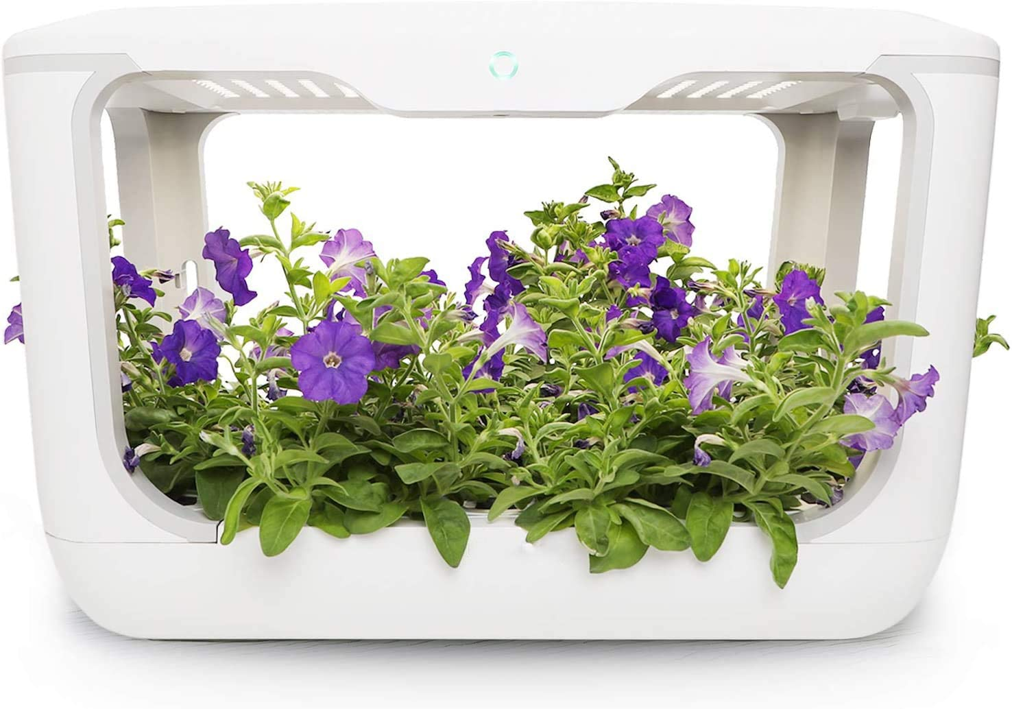 Kozzyfresh Indoor Garden Kit. 70+ Herb Hydroponic Grow System. Stackable 15-Pods Smart Garden. Automatic Timer. 35W High Efficient Full-Spectrum LED.Indoor Herb Germination Kit.