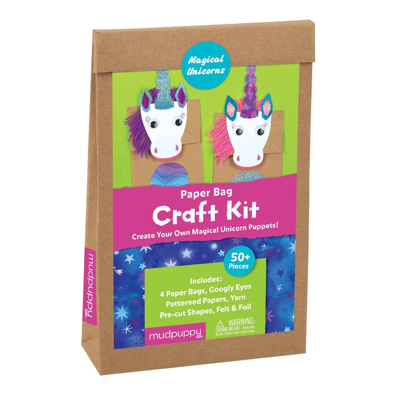 Mudpuppy Magical Unicorns Paper Bag Craft Kit
