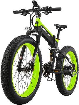 Lankeleisi - Bicicleta eléctrica de montaña - 26 pulgadas x 10 cm ...