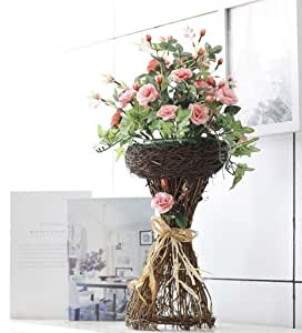Artificial flowers, artificial flowers artificial flowers, rattan bride flowers, Club layout