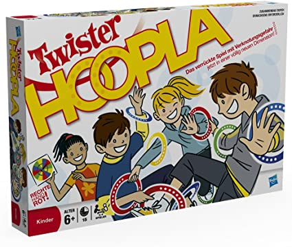 Hasbro 16964100 Twister Hoopla - Twister con Anillas: Amazon.es: Juguetes y juegos