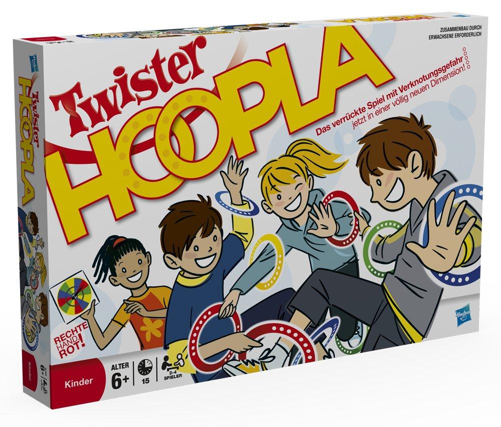 Hasbro 16964100 - Twister Hoopla B0043VSGFS Reise- Mitbring- und Kompaktspiele Reisespiele für Kinder