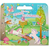 Enchanted Activity, Sticker and Colouring Set for Girls. Woodland Sticker Book Activity Set for Girls. Great Travel Activity Packs for Kids / Activity Book. Great Gifts for Girls 3 years old