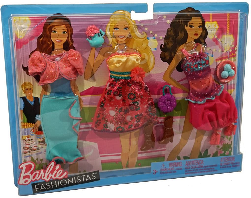 Barbie Fashionistas Day Looks Clothes Tea Party Outfits
