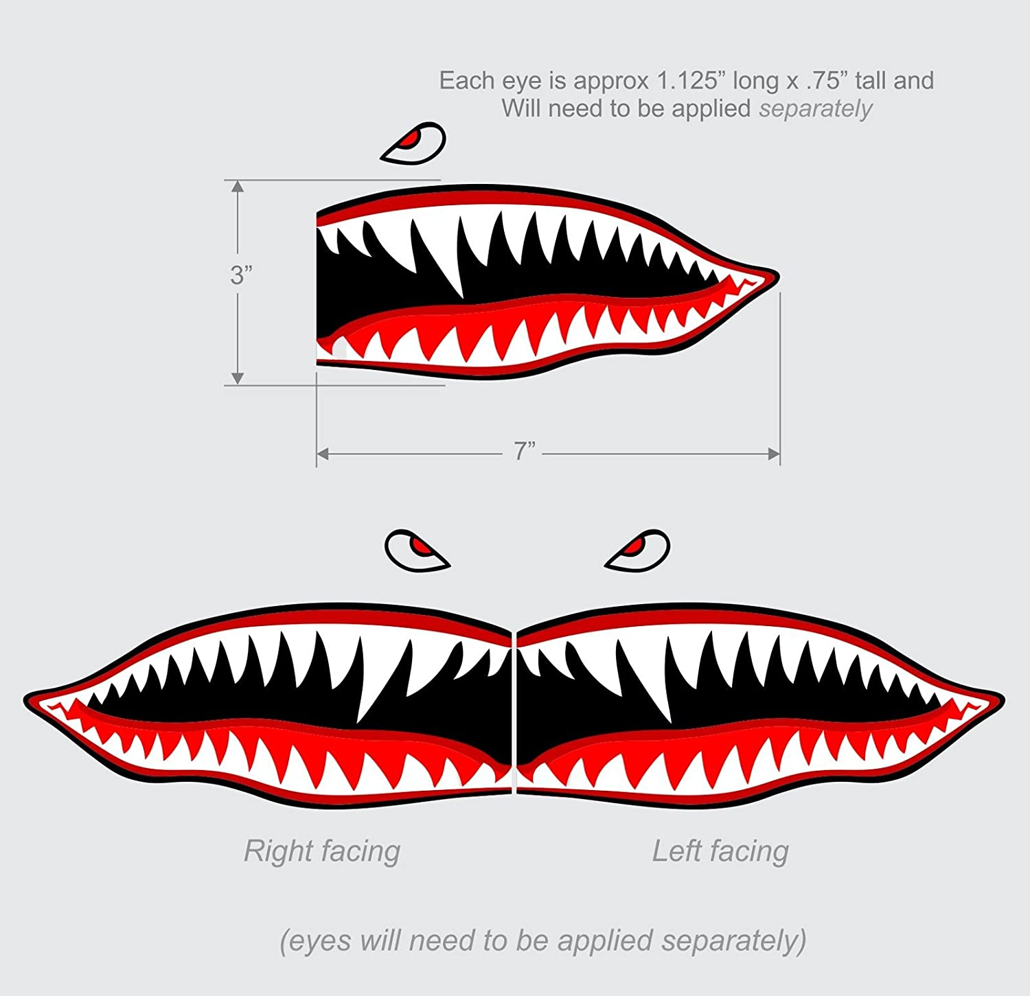 Shark Teeth Template Choice Image Design Ideas