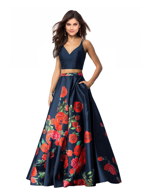 Top 10 wholesale 2 Piece Floral Prom Dress - Chinabrands.com 6c43a126742d