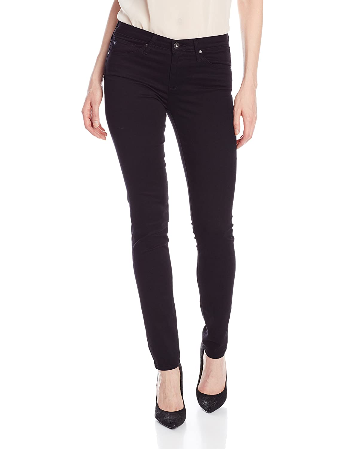 AG Adriano Goldschmied Women's The Prima Skinny Jean in Super Black