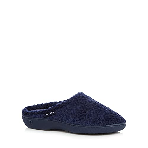 IsotonerPopcorn Terry Mule - Zapatillas Bajas mujer , color azul, talla 37 1/3: Isotoner: Amazon.es: Zapatos y complementos