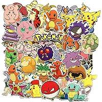 80 Unids Pokémon Paquete de Pegatinas, Pegatinas Únicas y Frescas para Niños Adolescentes Portátil Guitarra Patinetas de…