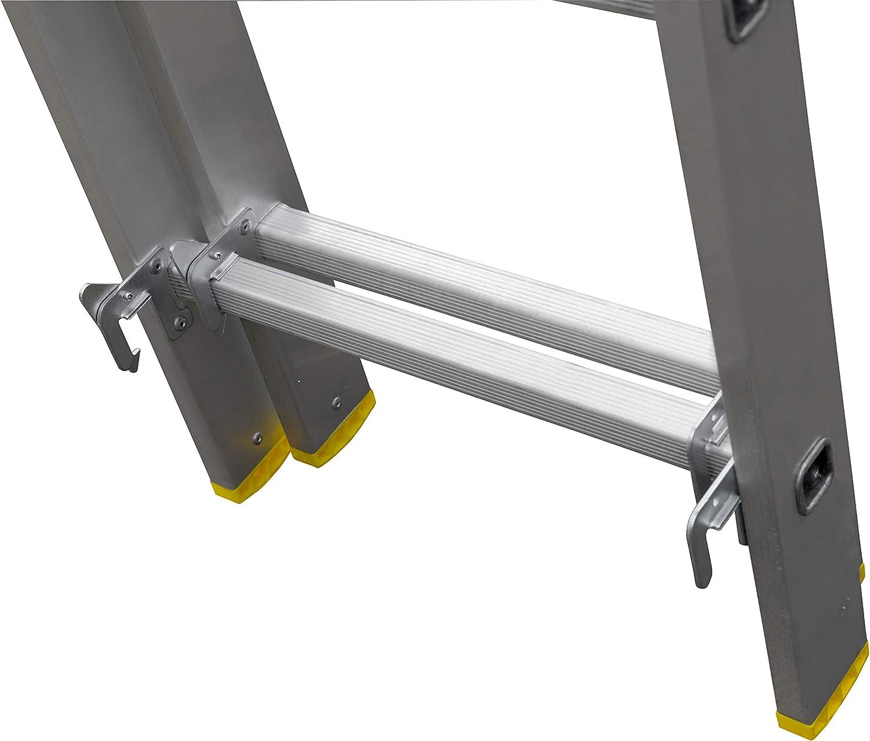 3-teilige Aluminium Mehrzweck und Kombileiter 3 x 7 Sprossen