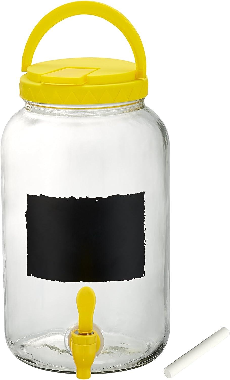 Artland Tailgate Beverage Dispenser, 1 gallon, Yellow