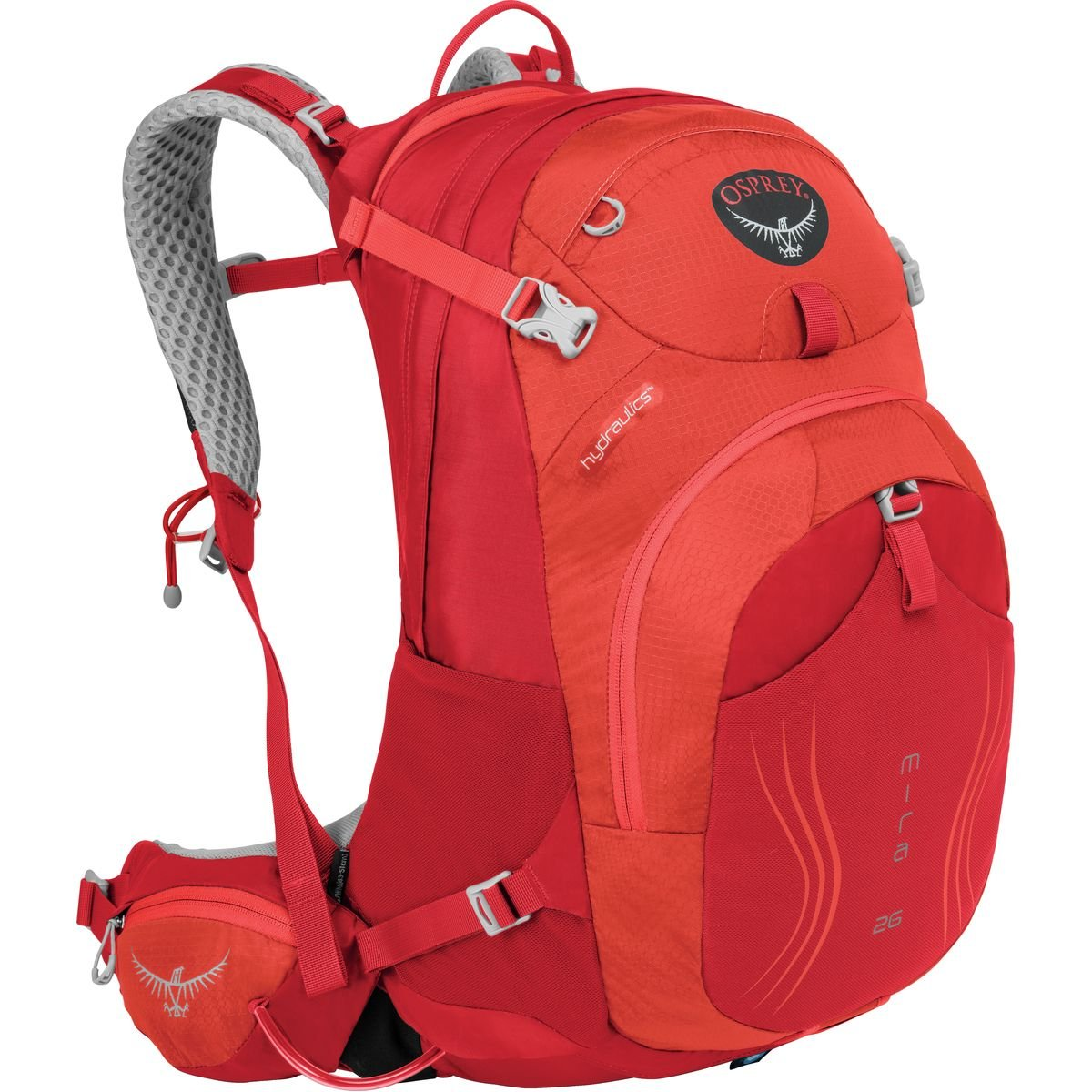 Osprey Mira AG 26 Hydration Pack S/M チェリーレッド B01E7CY2S2