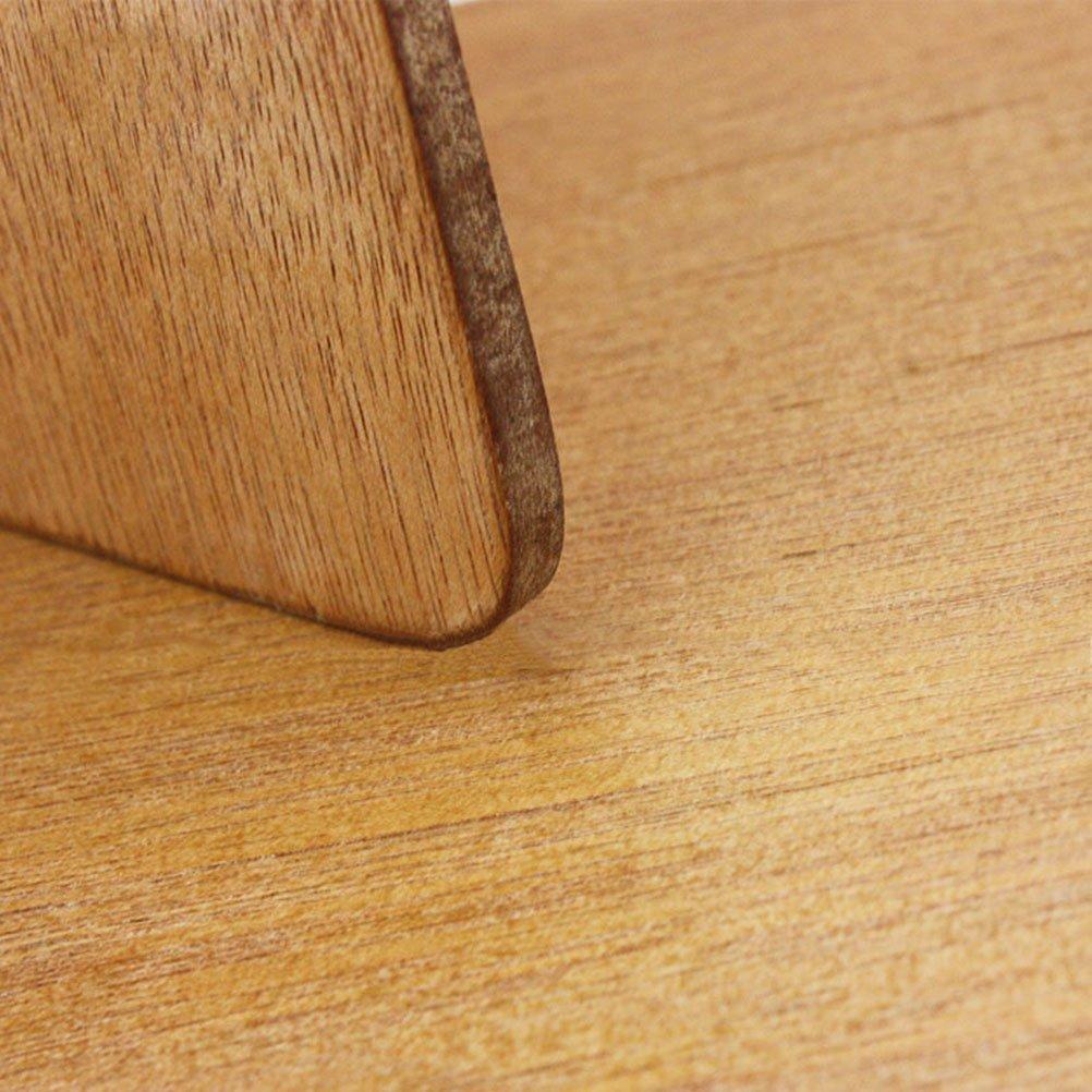 quadratisch /Ölgem/älde Palette mit Daumen Loch f/ür Acryl Aquarell /Öl und Gouache Paint healifty Holz Farbpalette
