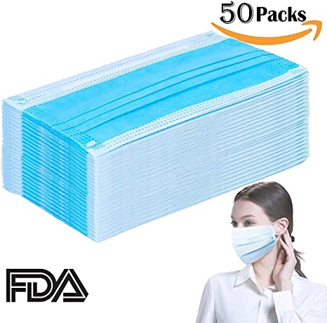 disposable face masks with earloops