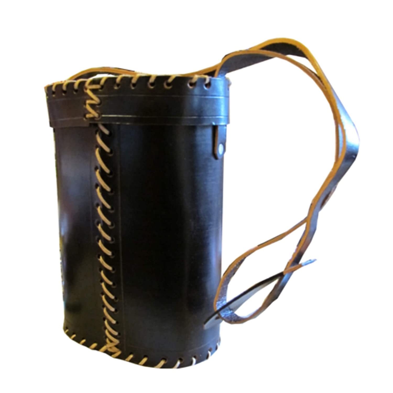Traditionalレザー' Matera ' Carry Bag for Yerba Mate B007IHSQK4