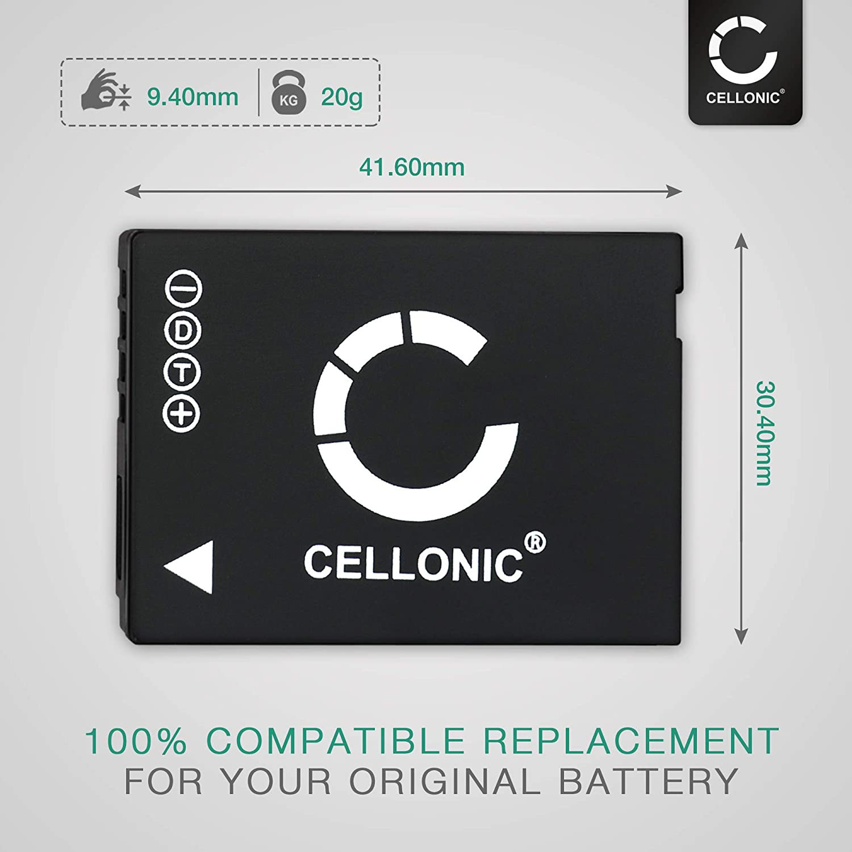 Cellonic Qualitäts Akku Kompatibel Mit Leica V Lux 20 Elektronik