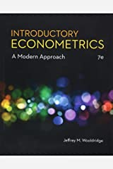 Introductory Econometrics: A Modern Approach (MindTap Course List) Hardcover
