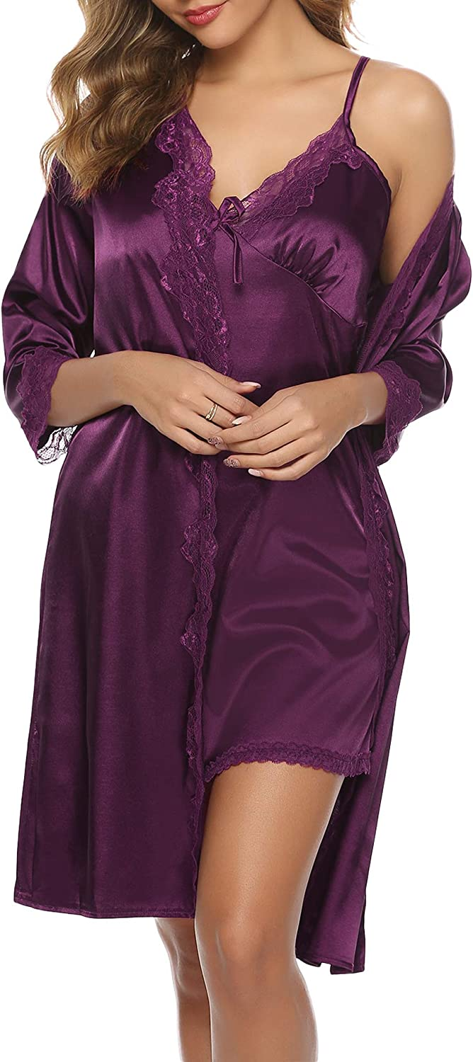 Sykooria Women's Satin...
