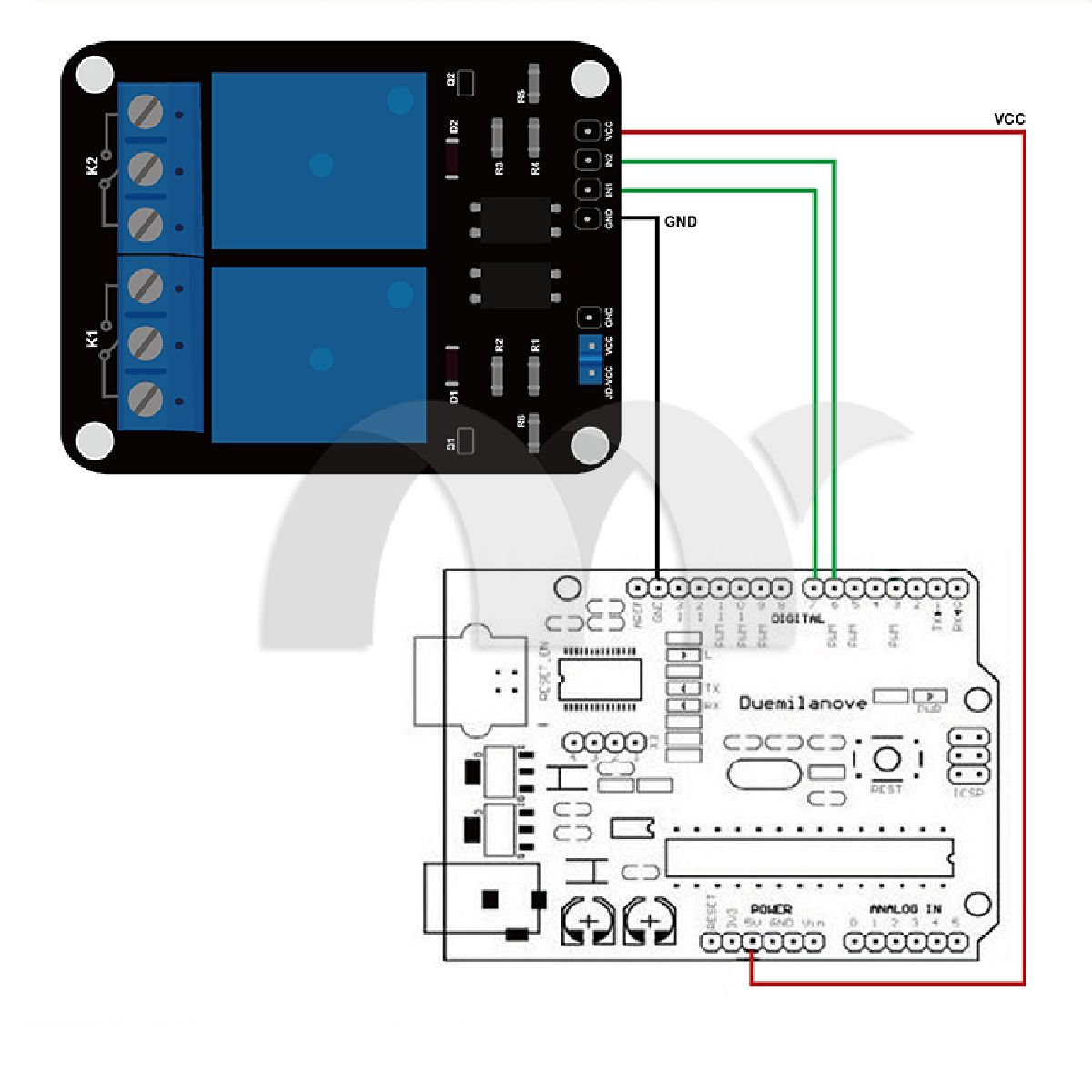 Eztronics Corp 2 Channel 24v Relay Module With Dc5v To Dc30v Converter By 74hc14 Optocoupler For Arduino Dsp Avr Pic Arm Computers Accessories