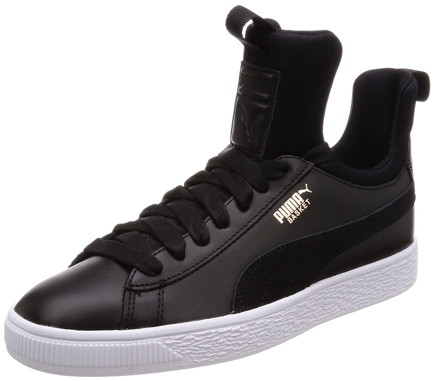 3dc6b457618c83 Puma Basket Fierce Trainers Black  Amazon.co.uk  Shoes   Bags