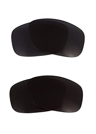 60fbda6f6d Image Unavailable. Image not available for. Color  Jupiter Replacement  Lenses Polarized Black   Grey by SEEK fits OAKLEY Sunglasses