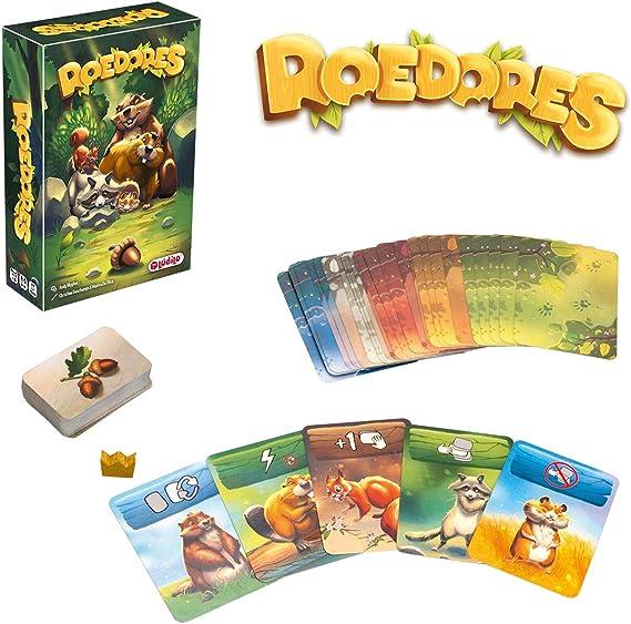 Amazon.es: Roedores (Lúdilo) Juego de Mesa Educativo para niños, Juego de Cartas, Muy Divertido para Jugar en Familia y Llevar de Viaje. Lógica y Estrategia