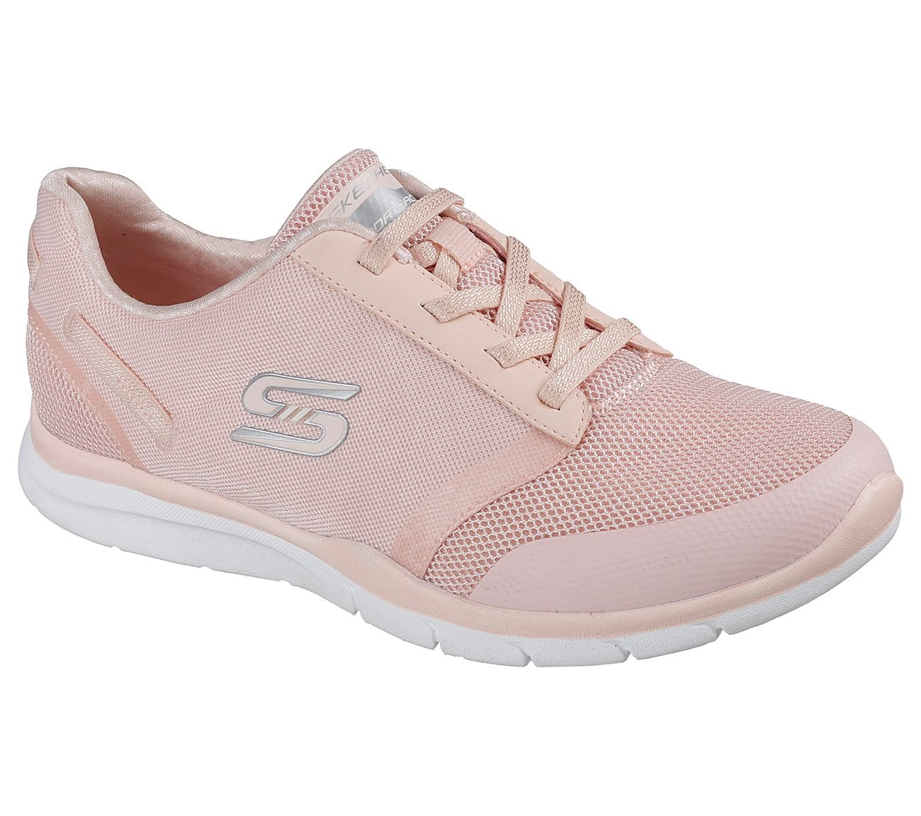 Skechers Gratis Cloud up to Speed Womens Slip On Sneakers B079RTGW8Z 5 B(M) US|Peach