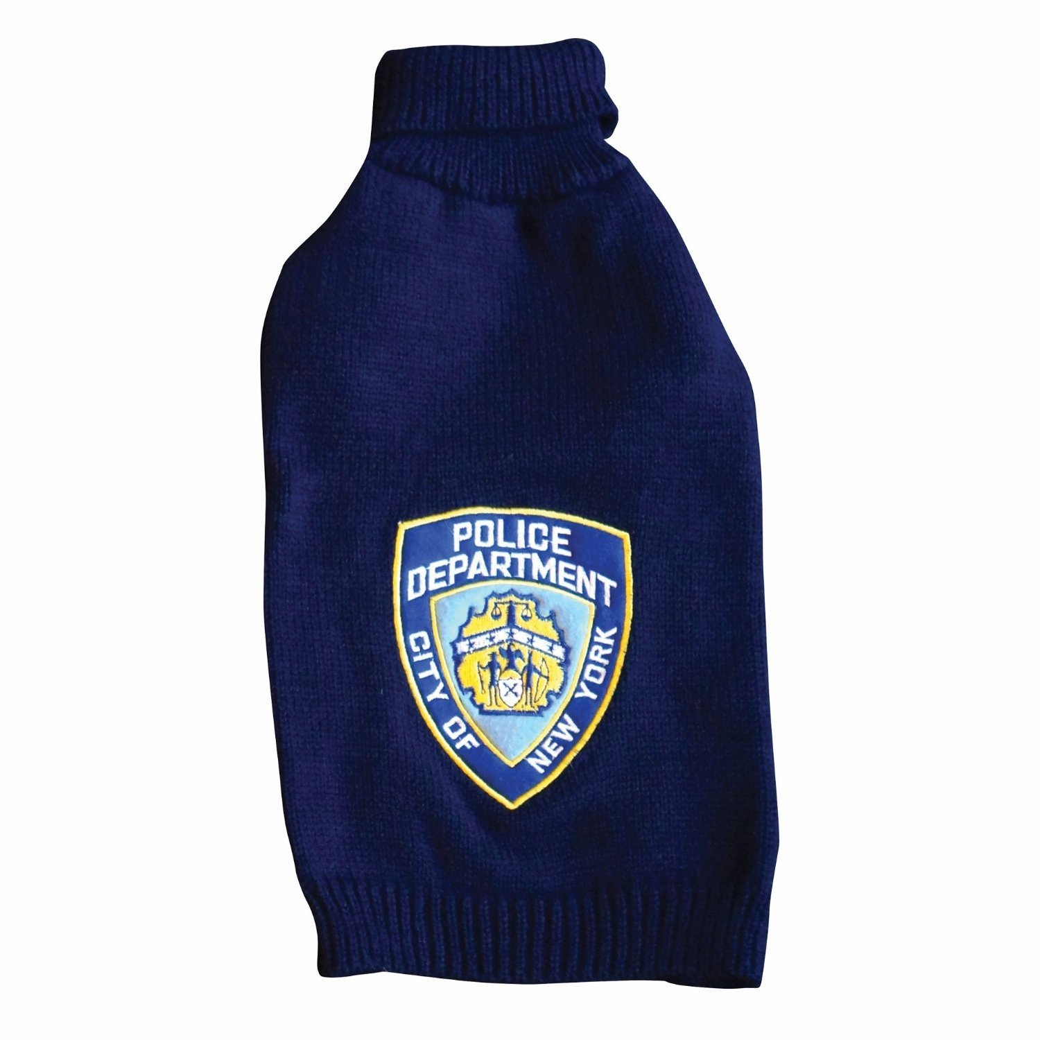 Royal Animals 12258P-XS NYPD Pet Sweater, X-Small, Navy Blue by ROYAL ANIMALS (Image #1)