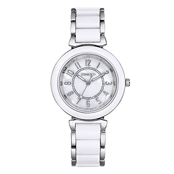 Time100 W50149L.04A W500 - Reloj para mujeres color blanco