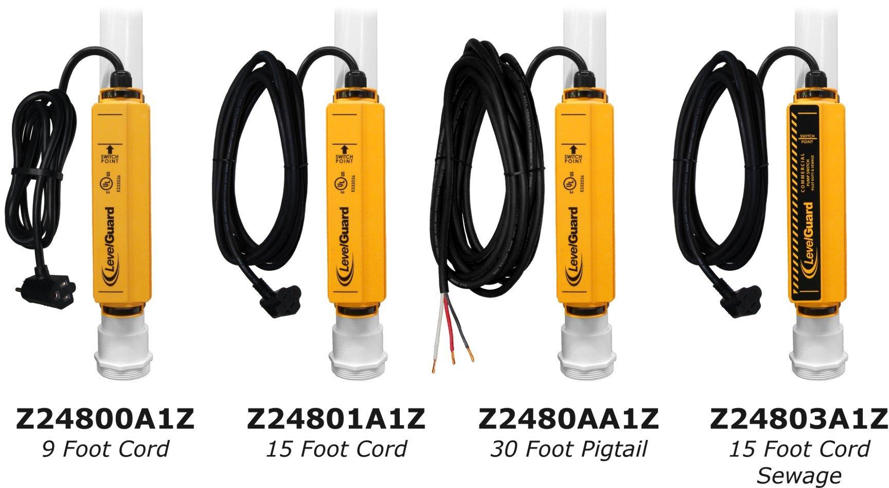LevelGuard Z24803PTZ Solid State Sewage Pump Switch