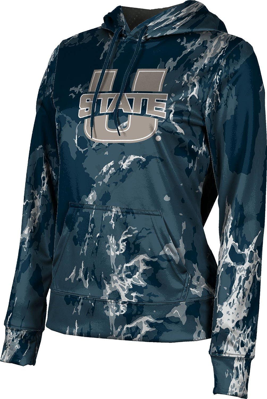 School Spirit Sweatshirt ProSphere Utah State University Girls Pullover Hoodie Marble