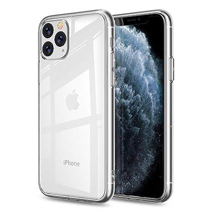 FayTun Funda para iPhone 11 Pro, Ultra Fina Silicona Suave TPU Gel Carcasa Anti-Choque Ultra-Delgado Anti-arañazos Protectora Case Cover para iPhone ...