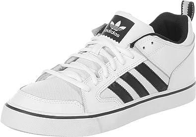 Adidas Varial II Low Herren Freizeitschuh weiß-schwarz - 13,5