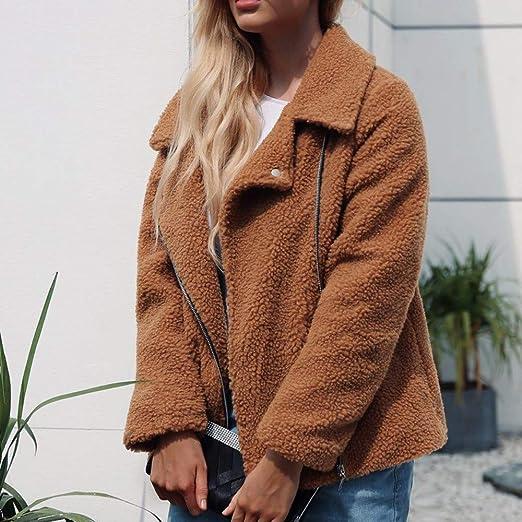 Winter Mantel Pullover Reaso Damen Cardgian Winter Parka Jacke Sweatshirt  warme Jacke künstliche Wollejacke Weste Kapuzenpullover Dame Woll Pullover  Retro ... 9d28657552