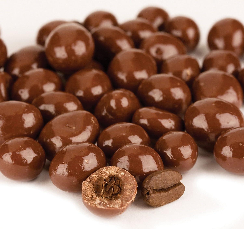 Amazon.com : SweetGourmet Dark Chocolate Espresso Coffee Beans, 16 ...
