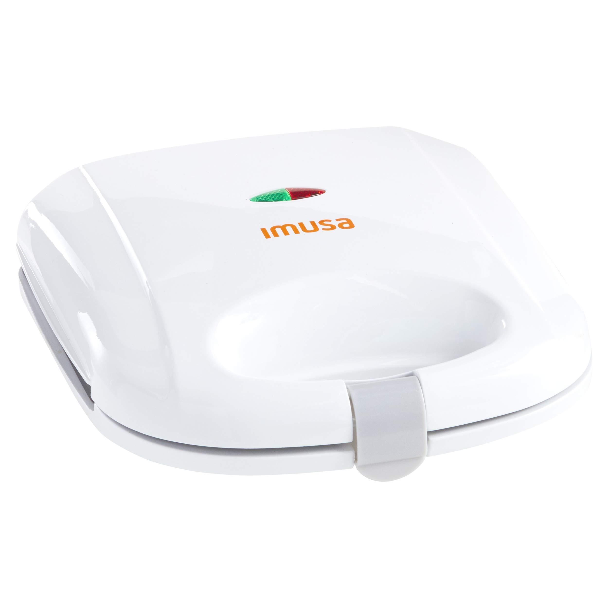 IMUSA USA GAU-80301 Sandwich Maker, White by IMUSA USA