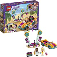 LEGO Friends 41390 Andrea's Car and Stage Building Kit (240 Pieces)