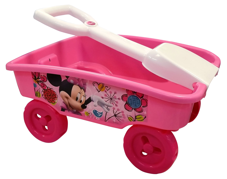 Minnie Disney Mouse Shovel Wagon