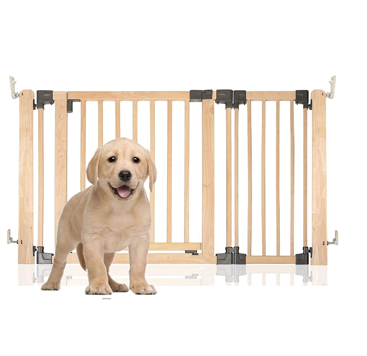 Natural Wood Upto 136cmBettacare Wooden Multi Panel Pet Barrier Upto 136cm