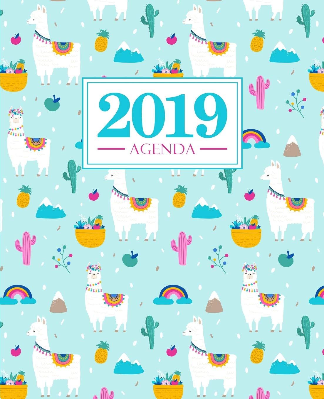 Agenda 2019: 19x23cm : Agenda 2019 semainier français : lama ...