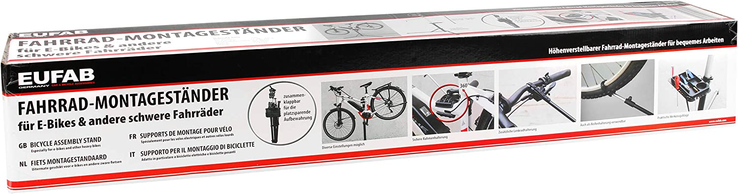 EUFAB 16421 Bicycle Mounting Stand for E-Bikes