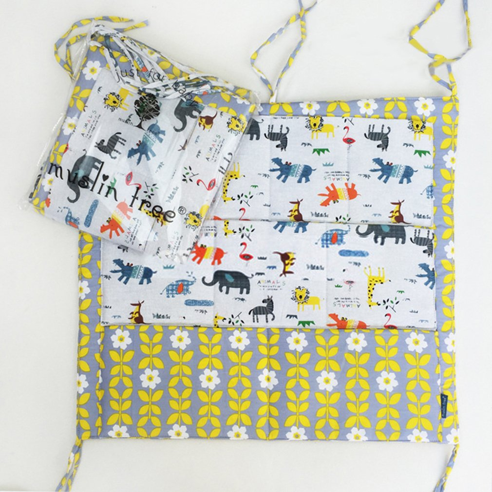 50cm ShepoIseven Disposable Pure Cotton Cot Bed Hanging Dirty Clothes Storage Bag Organizer 60