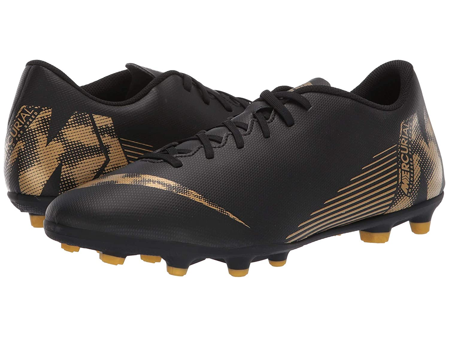 大人気の [ナイキ] MG メンズランニングシューズスニーカー靴 Vapor Vivid 12 Club MG Gold [並行輸入品] B07P8SWVD4 Black/Metallic Vivid Gold 28.5 cm D 28.5 cm D|Black/Metallic Vivid Gold, HiMeHouse:5ddfba0c --- svecha37.ru